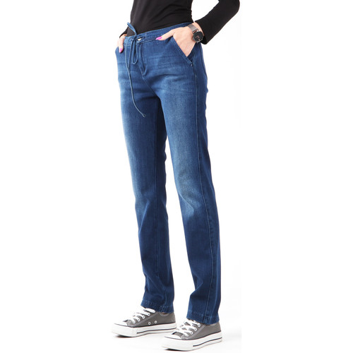 Clothing Women Skinny jeans Wrangler Slouchy Cosy Blue W27CGM82G navy