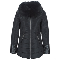 Clothing Women Duffel coats Betty London LACAMAS Black
