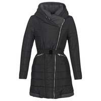 Clothing Women Duffel coats Casual Attitude LUCIOLE Black