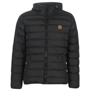 Clothing Men Duffel coats Urban Classics BASIC BUBBLE JACKET Black