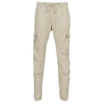 Clothing Men Cargo trousers Urban Classics CARGO JOGGING PANTS Beige