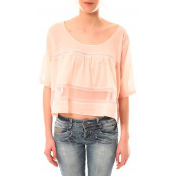 Clothing Women short-sleeved t-shirts Lara Ethnics Top Wendy Violet Pink