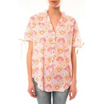 Clothing Women short-sleeved t-shirts Lara Ethnics Tunique Morgane Rose Pink