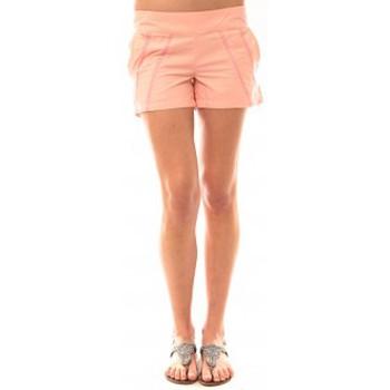 Clothing Women Shorts / Bermudas Lara Ethnics Short Lola Rose Pink