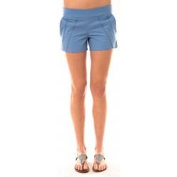 Clothing Women Shorts / Bermudas Lara Ethnics Short Lola Bleu Blue