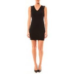 Clothing Women Short Dresses Vera & Lucy Robe Enzoria 9252 Noir Black