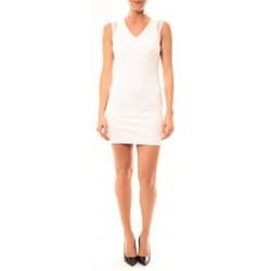 Clothing Women Short Dresses Vera & Lucy Robe Enzoria 9252 Blanc White