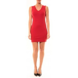 Clothing Women Short Dresses Vera & Lucy Robe Enzoria 9252 Rouge Red