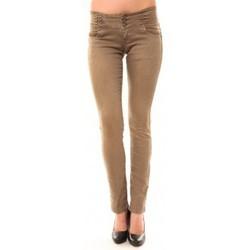 Clothing Women straight jeans Dress Code Jeans Rremixx RX320 Beige Beige