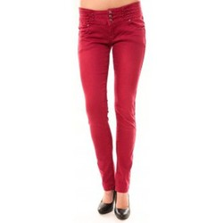 Clothing Women straight jeans Dress Code Jeans Rremixx RX320 Rouge Red