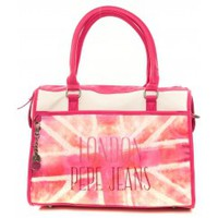 Bags Women Luggage Pepe jeans Sac Cyrielle 1963001 Rose Pink