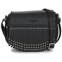 Bags Women Shoulder bags Fuchsia MUMBAI Black