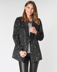 Clothing Women coats Vero Moda VMCOCOLEOPARD Grey