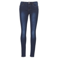 Clothing Women Slim jeans Vero Moda VMSEVEN Blue / Dark