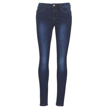 Clothing Women Slim jeans Vero Moda VMSEVEN Blue / Dark