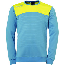 Clothing Sweaters Kempa Sweatshirt  Emotion 2.0 bleu/jaune