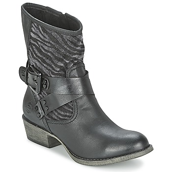 Shoes Women Mid boots Marco Tozzi BEATA Black