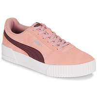 Shoes Women Low top trainers Puma COURT CALI RS Pink