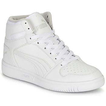 Shoes Children Hi top trainers Puma REBOUND LAYUP B White