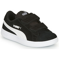 Shoes Children Low top trainers Puma SMASH Black