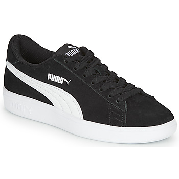 Shoes Boy Low top trainers Puma Puma Smash v2 SD Jr Black