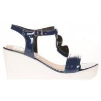 Shoes Women Sandals Cassis Côte d'Azur Sandales Orso Bleu marine Blue