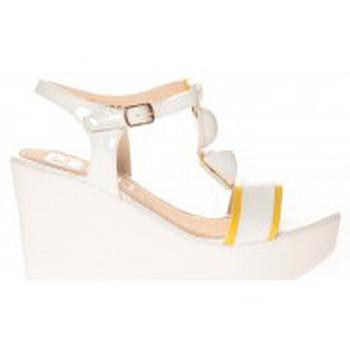 Shoes Women Sandals Cassis Côte d'Azur Sandales Orso Blanc White