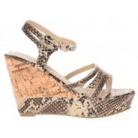 Shoes Women Sandals Cassis Côte d'Azur Sandales Manakine Beige Beige