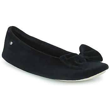 Shoes Women Slippers Isotoner 95810 Black