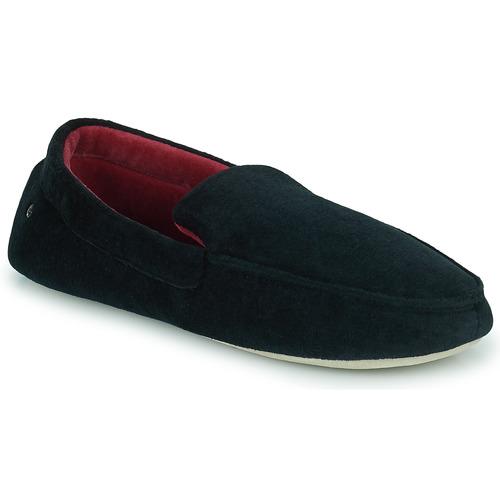 Shoes Men Slippers Isotoner 96774 Black