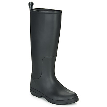 Shoes Women Wellington boots Isotoner 93700 Black