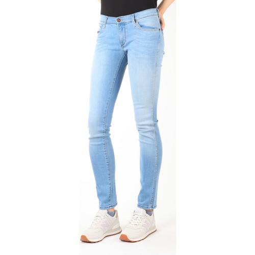 Clothing Women Slim jeans Wrangler Jeans  Blue Trace W22TF729D