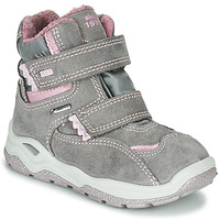 Shoes Girl Mid boots Primigi WICK GORE-TEX Grey / Pink