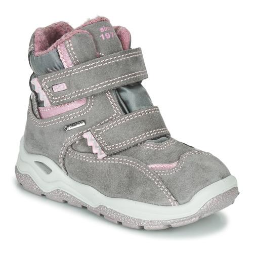 Shoes Girl Mid boots Primigi (enfant) WICK GORE-TEX Grey / Pink
