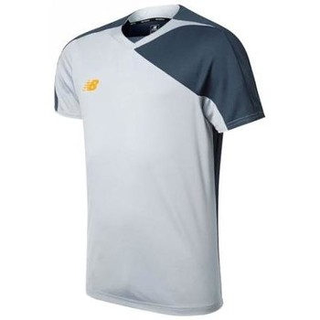 Clothing Men T-shirts & Polo shirts New Balance WSTM500SVM grey