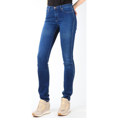 Clothing Women Slim jeans Wrangler Jeans  Cold Sky W26E8481V