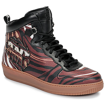 Shoes Men Hi top trainers Roberto Cavalli 8343 Multicolour