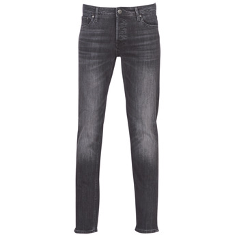 Clothing Men slim jeans Jack & Jones JJIGLENN Black