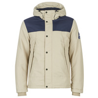 Clothing Men Jackets Jack & Jones JORMATT Beige / Marine