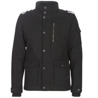 Clothing Men Coats Jack & Jones JCOJOEY Black