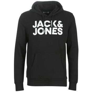 Clothing Men Sweaters Jack & Jones JJECORP LOGO Black