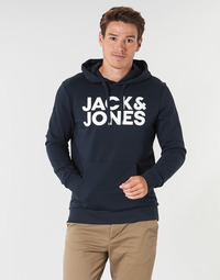 Clothing Men Sweaters Jack & Jones JJECORP LOGO Marine