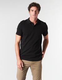 Clothing Men short-sleeved polo shirts Jack & Jones JJEBASIC Black