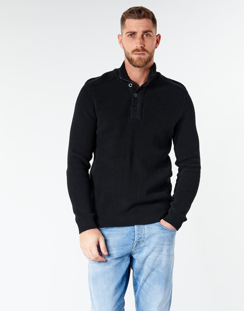 Clothing Men jumpers Jack & Jones JCOWELLINGTON Black