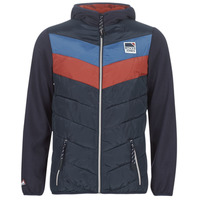 Clothing Men Jackets Jack & Jones JORJASPER Marine / Red