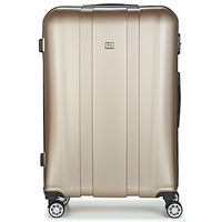 Bags Hard Suitcases David Jones CHAUVETTO 107L Gold