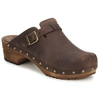 Shoes Women Clogs Sanita KRISTEL OPEN Brown