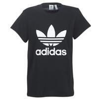 Clothing Women Short-sleeved t-shirts adidas Originals BOYFRIEND TEE Black