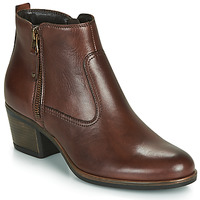 Shoes Women Ankle boots André MADRID Brown
