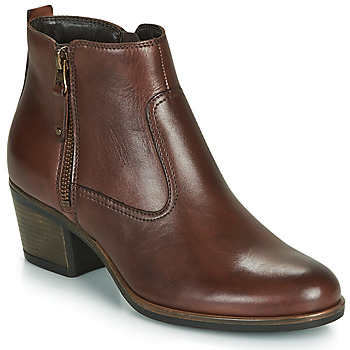 Shoes Women Mid boots André MADRID Brown